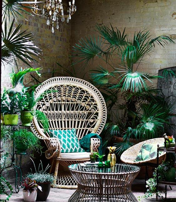 fauteuil rotin et coussin la combinaison parfaite. Black Bedroom Furniture Sets. Home Design Ideas